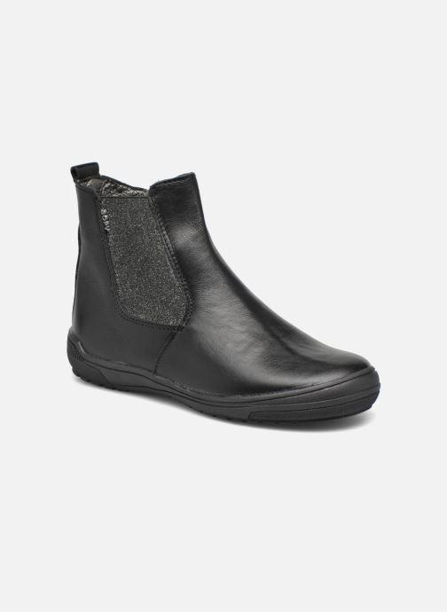 Ankelstøvler Bopy Snif Sort detaljeret billede af skoene