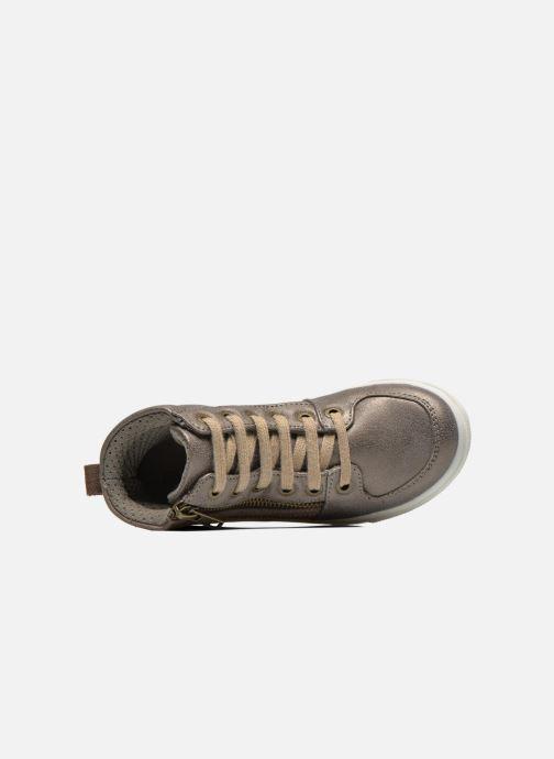 Baskets Bopy Lozip Or et bronze vue gauche