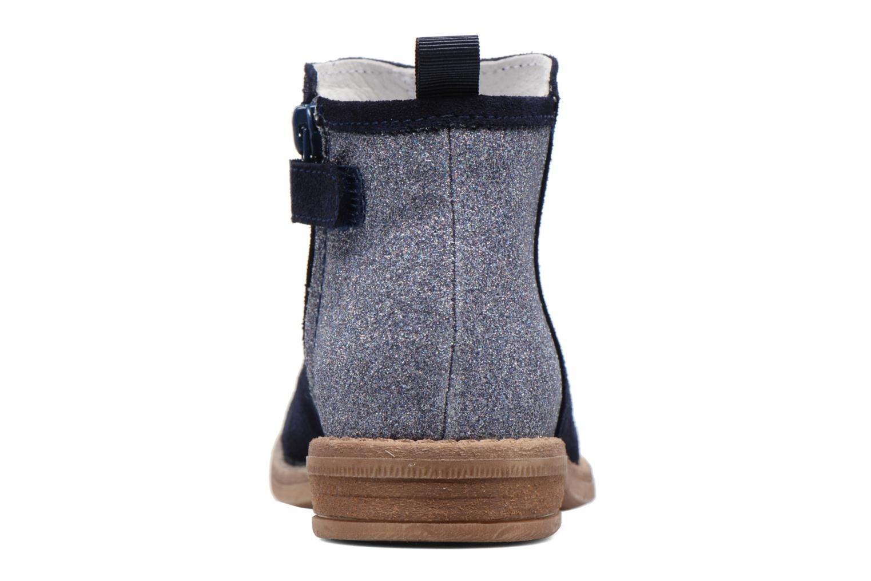 Bottines et boots Acebo's Olivia Bleu vue droite
