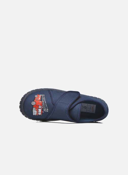Pantoffels Superfit Bill Blauw links