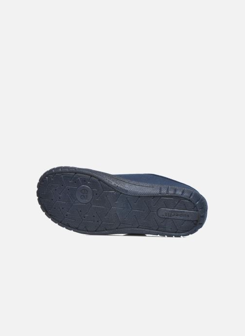 Pantuflas Superfit Bill Azul vista de arriba