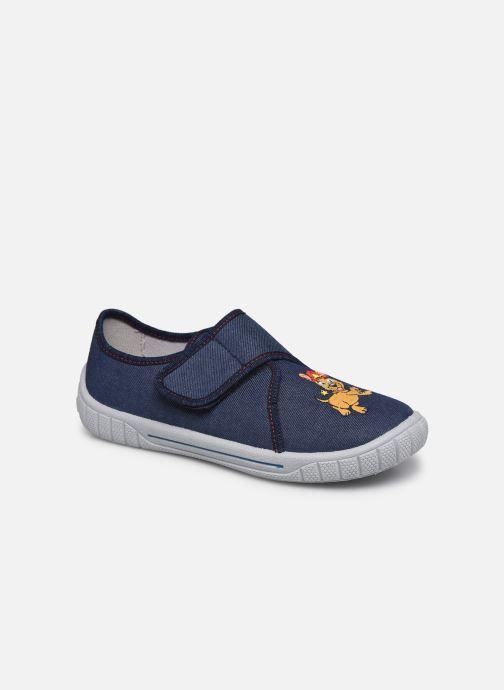 Hjemmesko Superfit Bill Blå detaljeret billede af skoene