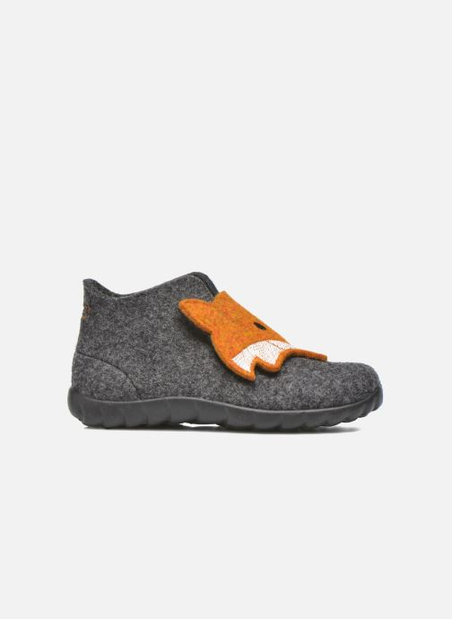 Pantuflas Superfit Happy Gris vistra trasera