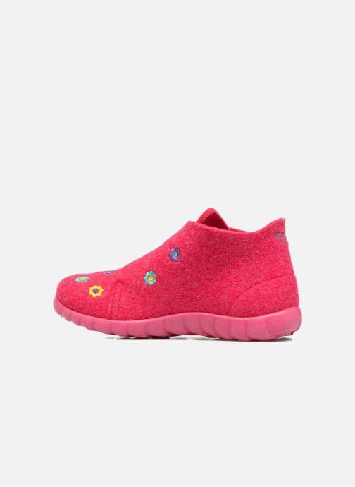 Slippers Superfit Happy Pink front view