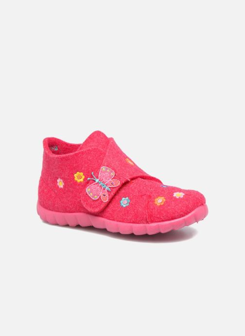 Slippers Superfit Happy Pink detailed view/ Pair view