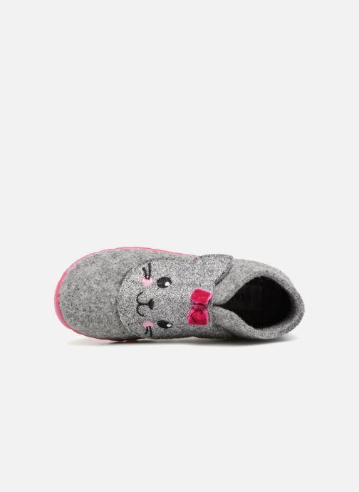Pantoffels Superfit Happy Grijs links