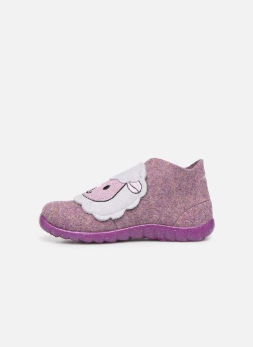 Pantuflas Superfit Happy Rosa vista de frente