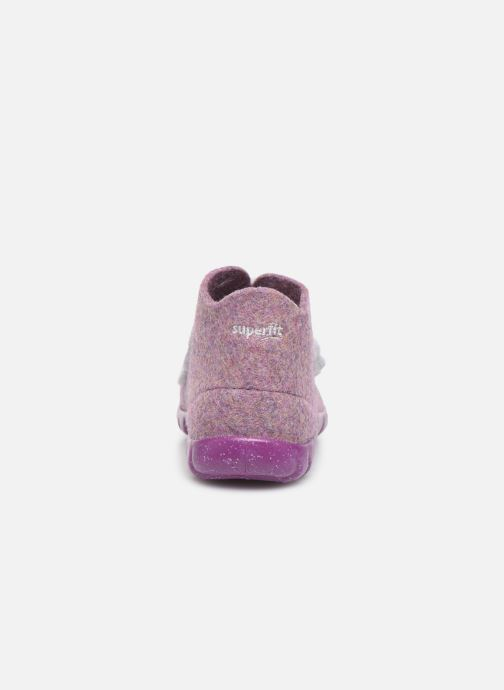 Pantuflas Superfit Happy Rosa vista lateral derecha
