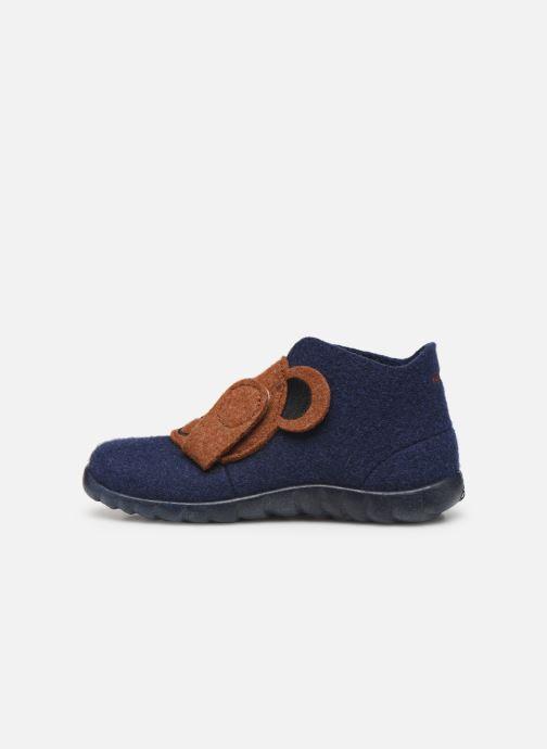 Pantoffels Superfit Happy Blauw voorkant