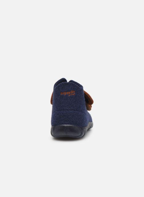 Pantoffels Superfit Happy Blauw rechts
