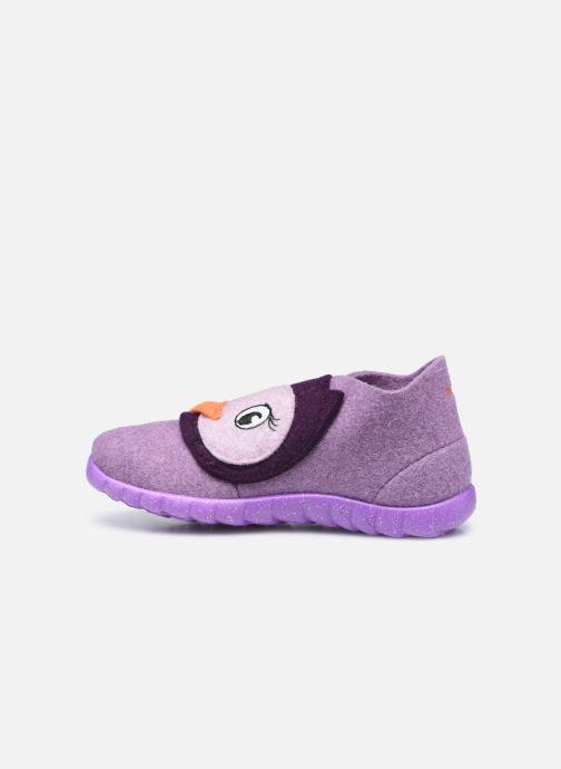 Pantofole Superfit Happy Viola immagine frontale