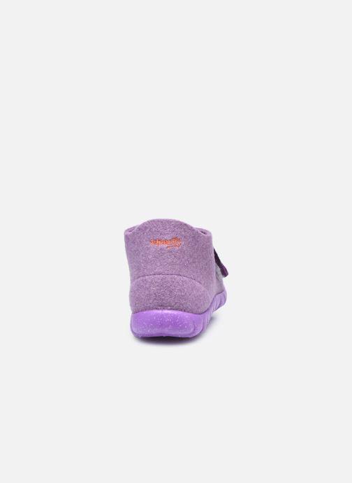 Pantofole Superfit Happy Viola immagine destra