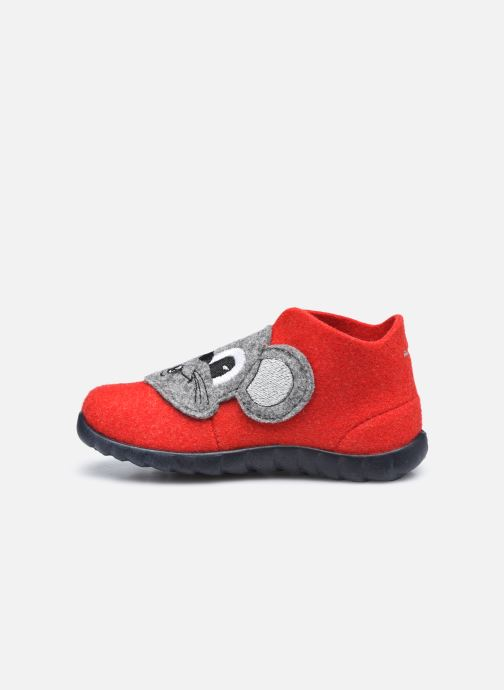 Pantofole Superfit Happy Rosso immagine frontale