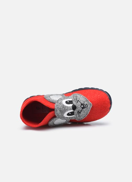 Pantofole Superfit Happy Rosso immagine sinistra