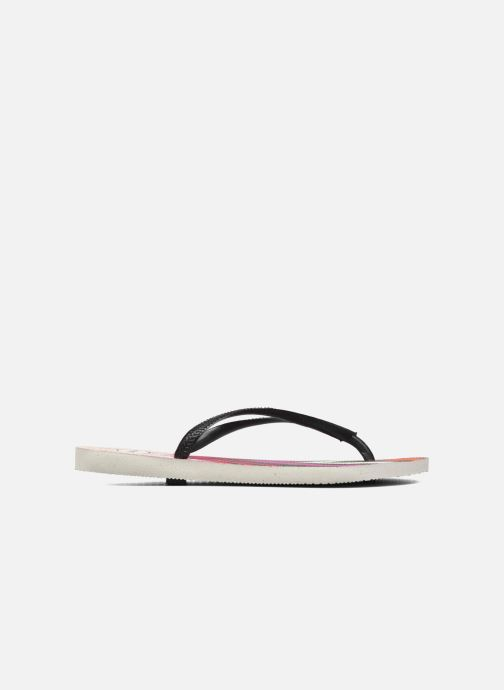Chanclas Havaianas Slim Tribal Blanco vistra trasera