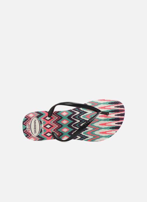 Slim Havaianas White Black Tongs Tribal Pink 5jLS3AcRq4