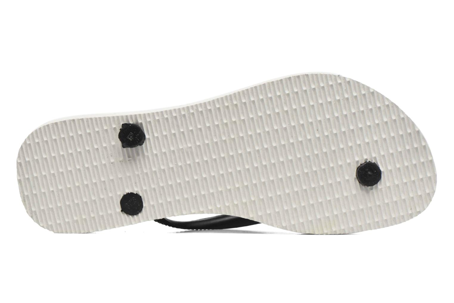 Chanclas Havaianas Slim Tribal Blanco vista de arriba