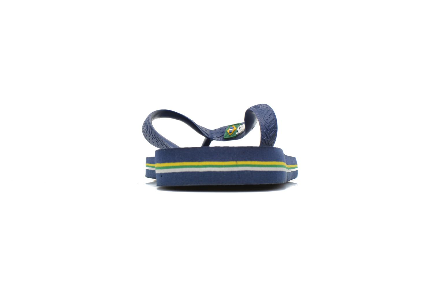 Flip flops Havaianas Brasil Logo HH Blue view from the right