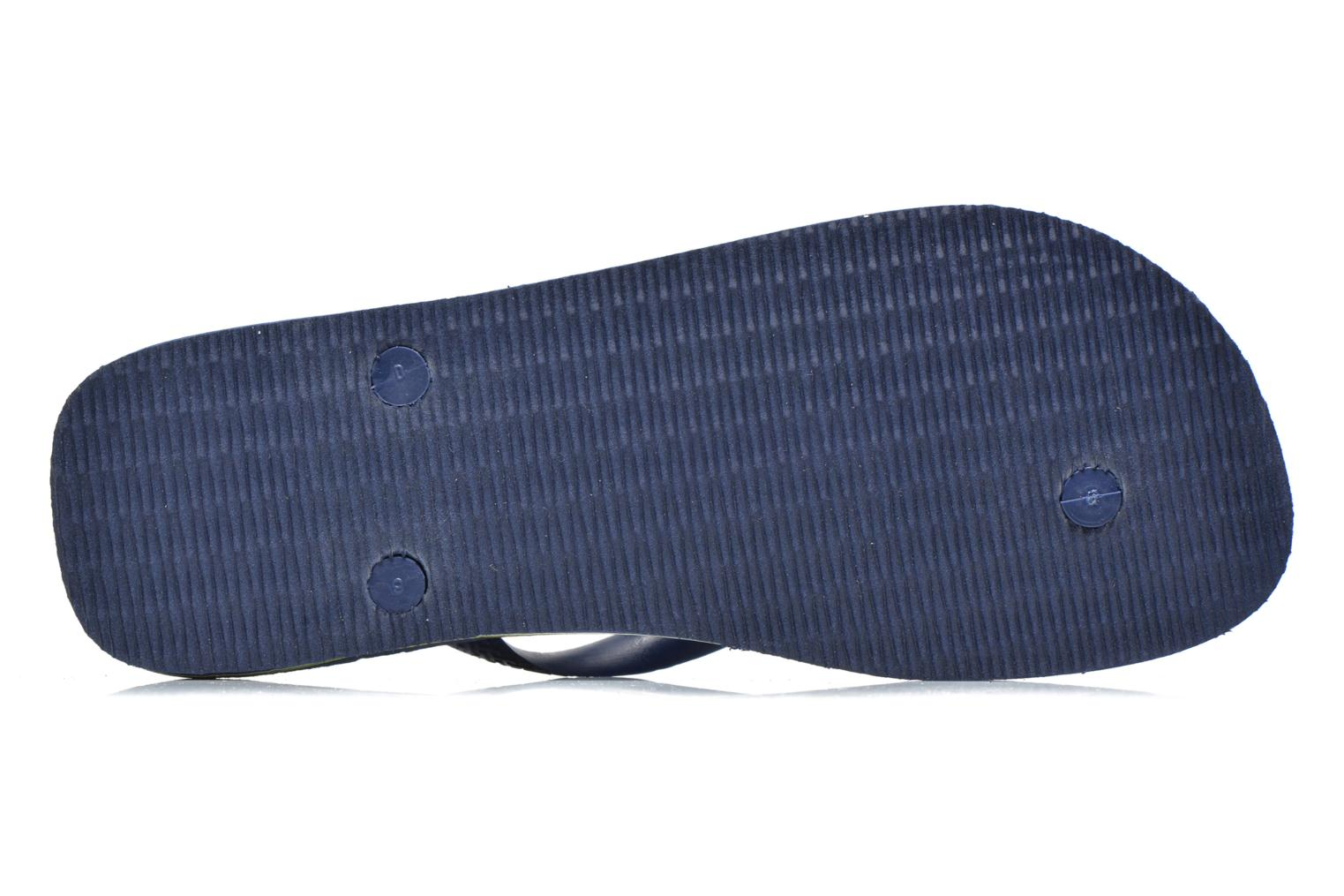 Flip flops Havaianas Brasil Logo HH Blue view from above