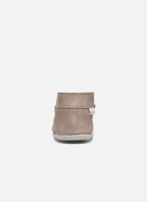 Slippers Robeez Pole Nord Beige view from the right