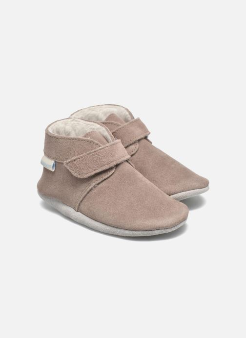 Slippers Robeez Pole Nord Beige detailed view/ Pair view