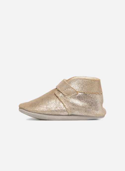 Pantofole Robeez Pole Nord Oro e bronzo immagine frontale