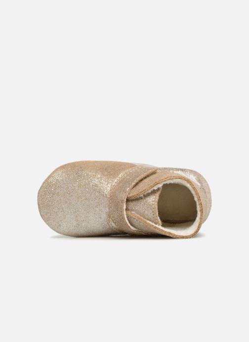 Pantofole Robeez Pole Nord Oro e bronzo immagine sinistra