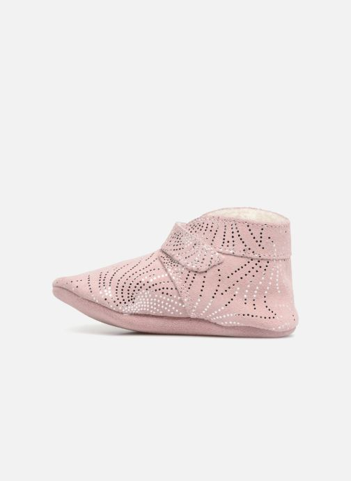 Slippers Robeez Pole Nord Pink front view
