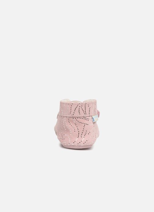 Chaussons Robeez Pole Nord Rose vue droite