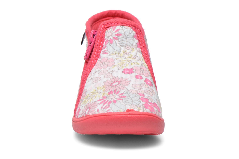 Chaussons Petit bateau PB Arle F Rose vue portées chaussures