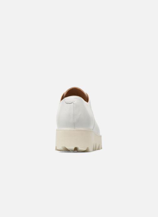 Zapatos con cordones Swear Nina 3 Blanco vista lateral derecha
