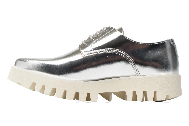Chaussures à lacets Swear Nina 3 Argent vue face