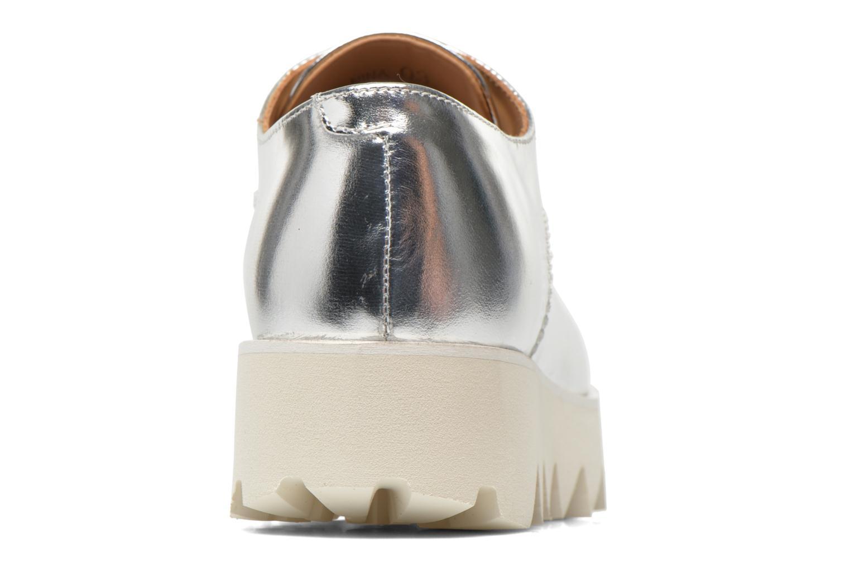 Chaussures à lacets Swear Nina 3 Argent vue droite
