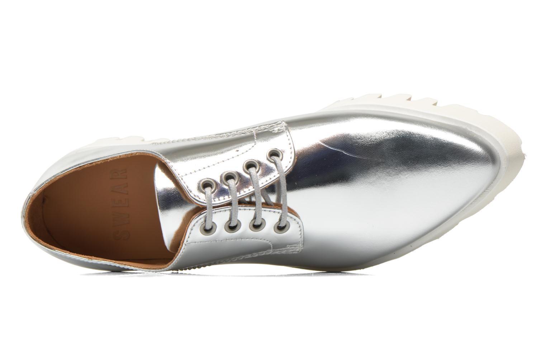 Chaussures à lacets Swear Nina 3 Argent vue gauche