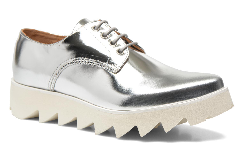 Chaussures à lacets Swear Nina 3 Argent vue détail/paire