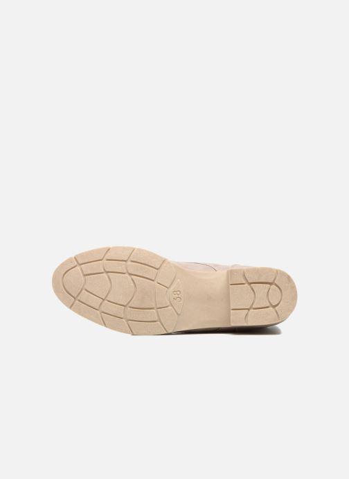 Sandali e scarpe aperte Marco Tozzi Flora Beige immagine dall'alto