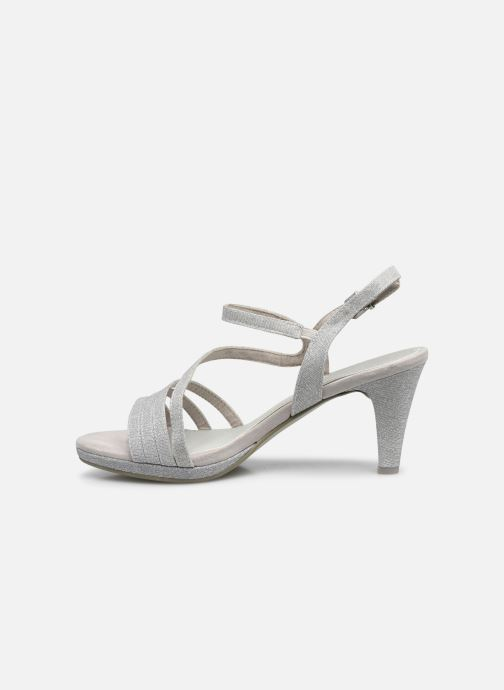 Sandali e scarpe aperte Marco Tozzi Flora Argento immagine frontale