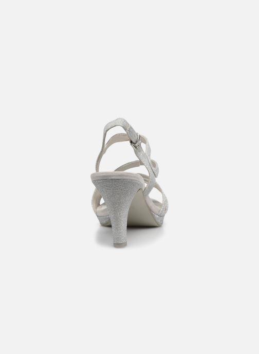 Sandali e scarpe aperte Marco Tozzi Flora Argento immagine destra