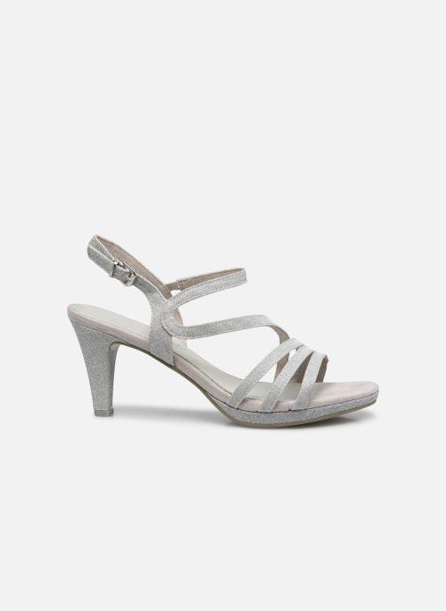 Sandali e scarpe aperte Marco Tozzi Flora Argento immagine posteriore