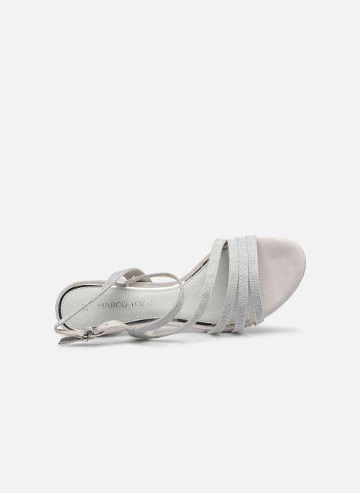 Sandali e scarpe aperte Marco Tozzi Flora Argento immagine sinistra