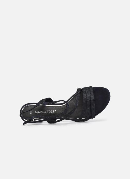 Sandali e scarpe aperte Marco Tozzi Flora Azzurro immagine sinistra