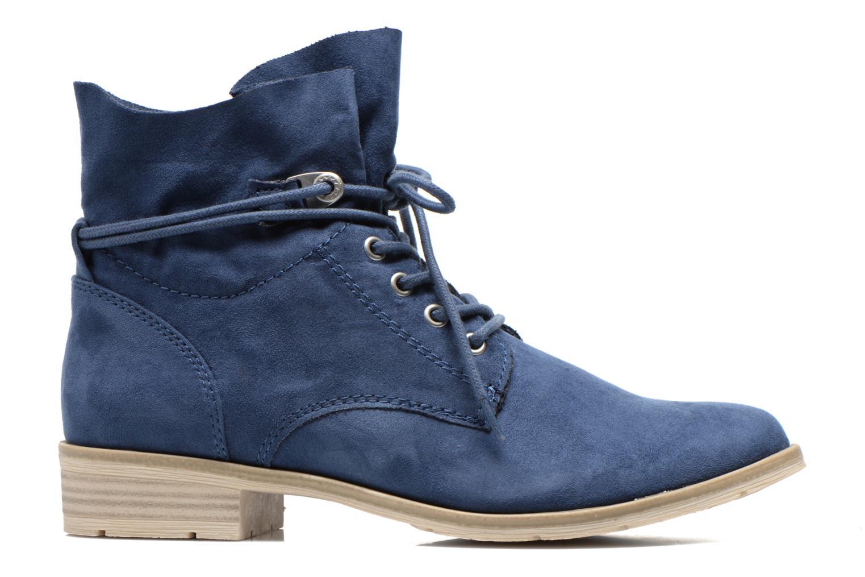 Bottines et boots Marco Tozzi Flora Bleu vue derrière