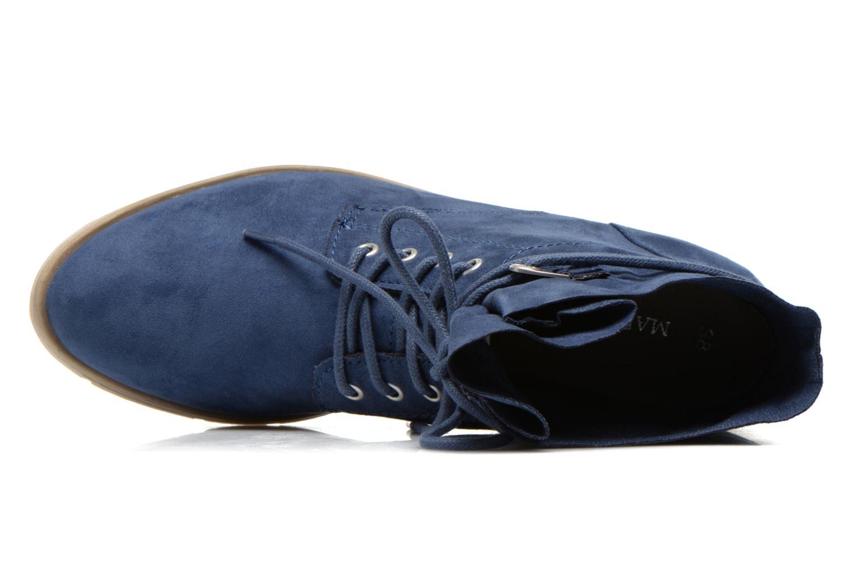 Bottines et boots Marco Tozzi Flora Bleu vue gauche