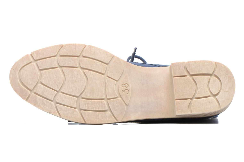 Bottines et boots Marco Tozzi Flora Bleu vue haut