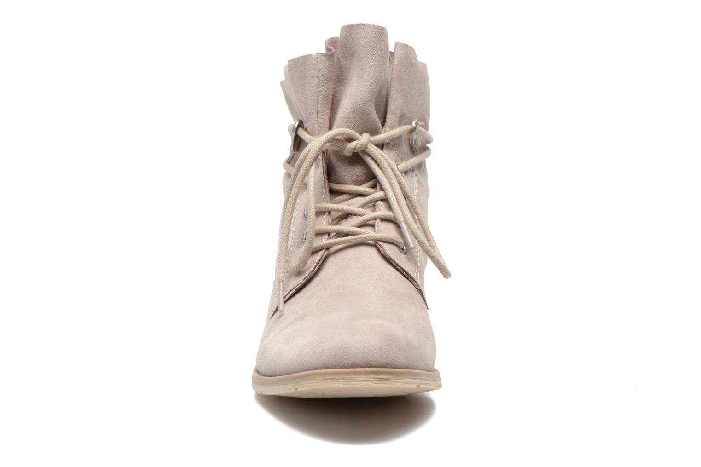 Bottines et boots Marco Tozzi Flora Beige vue portées chaussures