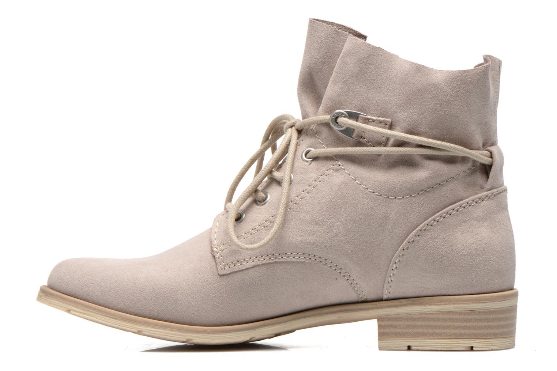 Bottines et boots Marco Tozzi Flora Beige vue face