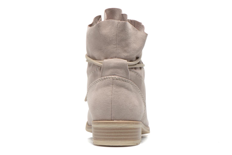 Bottines et boots Marco Tozzi Flora Beige vue droite