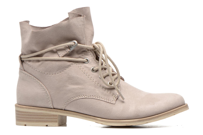 Bottines et boots Marco Tozzi Flora Beige vue derrière