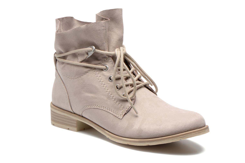 Bottines et boots Marco Tozzi Flora Beige vue détail/paire