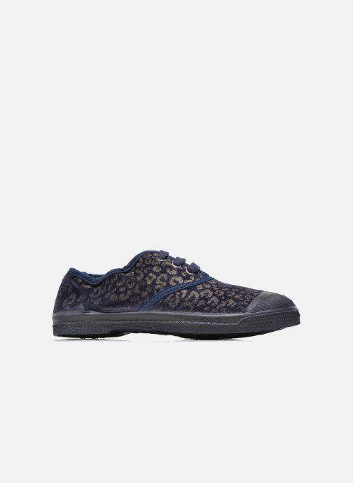 Sneakers Bensimon Tennis Gold Leopard E Azzurro immagine posteriore